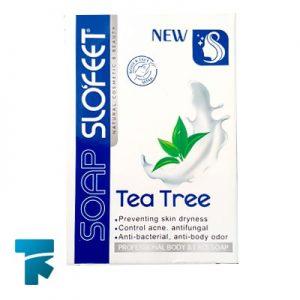 صابون ضد قارچ درخت چای اسلوفیت (Slofeet) مناسب پوست های چرب وزن 115 گرم